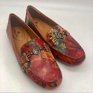 Patricia Nash Trevi Loafers floral multi print